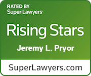 Super Lawyer Rising Star Jeremy Pryor