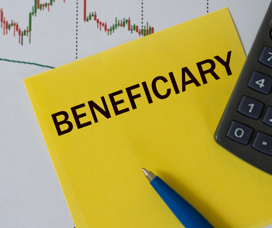 Eligible Designated Beneficiary sign